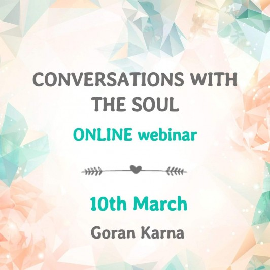 ONLINE webinar Conversations with the Soul, 10th March