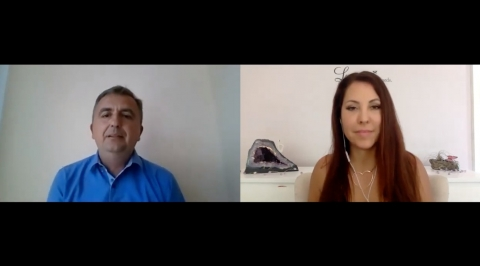 Gizella Turbok interview with Goran Karna about his COVID-19 recovery and self-empowerment